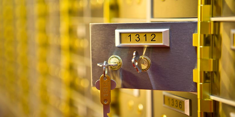 Safety Deposit Boxes Hong Kong